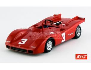 Best Model BT9631 ABARTH 2000 SP N.3 2nd EUROPEAN 2 LITRE SALZBURGRING 1970 D.QUESTER 1:43 Modellino