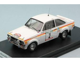 Trofeu TFRRAL40 FORD ESCORT Mk2 N.2 2nd PORTUGAL RALLY 1977 WALDEGARD-THORSZELIUS 1:43 Modellino