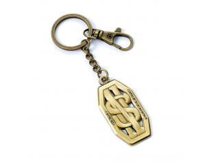 Portachiavi Fantastic Beasts Keychain Newt Scamander Logo (antique brass plated) Carat Shop, The