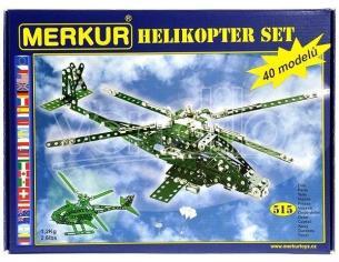 MERKUR - ELICOTTERO SET 515 PEZZI (Giocattolo)