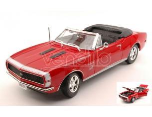 Maisto MI31684R CHEVROLET CAMARO SS 396 1967 RED 1:18 Modellino