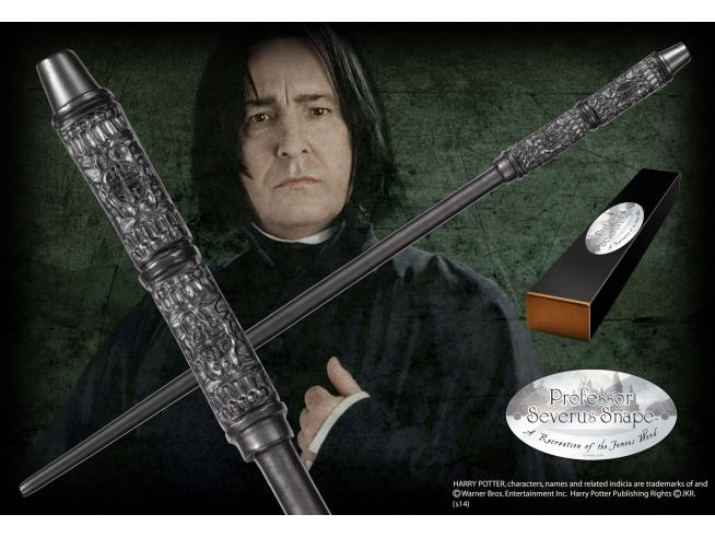 Bacchetta Magica Severus Piton Harry Potter Character Noble Collection