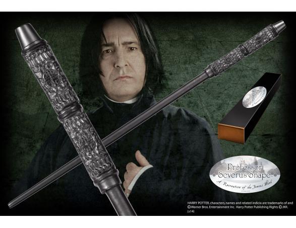 Bacchetta Magica Severus Piton Harry Potter Character Noble Collection