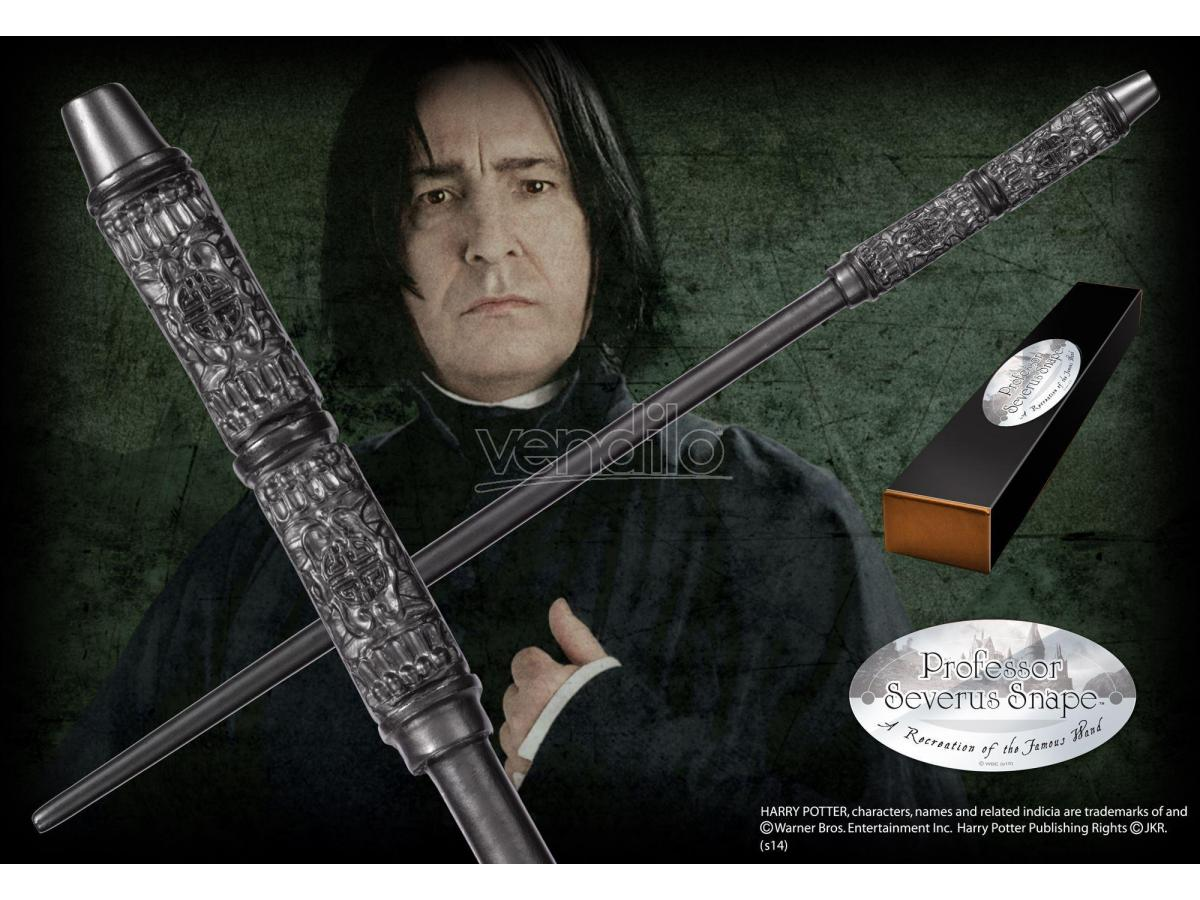Harry Potter Bacchetta Magica Severus Piton Character Noble Collection