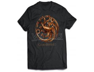 Game Of Thrones Maglia T Shirt Chrome Targaryen Size XL