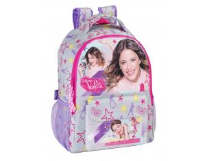 Zaino Zainetto Scuola palestra piscina Violetta Neon Backpack Ice Skating 43 cm