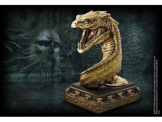 Harry Potter  Fermalibri Basilisco Replica  18 Cm Noble Collection