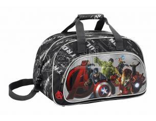 Borsa viaggio palestra Marvel Avengers Age of Ultron Sport Bag Avengers 40 cm Safta