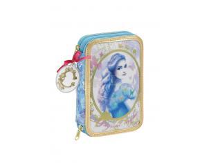 Cenerantola Cinderella 34 Piece Astuccio portapenne pencil case 21 cm Safta
