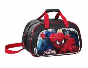 Spider Man Sport Borsa palestra o da viaggio 40 cm Marvel Disney