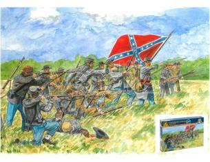 Italeri IT6178 CONFEDERATE INFANTRY KIT 1:72 Modellino