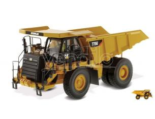 Diecast Master DM85909 CAT 775G OFF-HIGHWAY TRUCK 1:50 Modellino