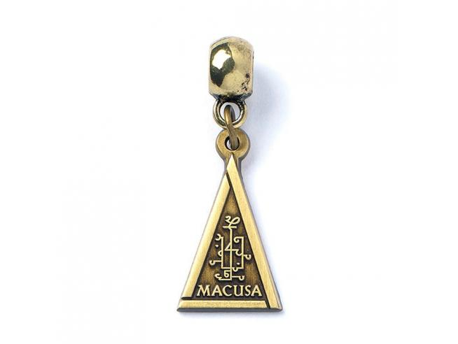 Fantastic Beasts Charm Macusa (antique brass plated) Carat Shop, The
