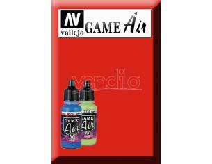 VALLEJO GAME AIR HOT ORANGE 72709 COLORI