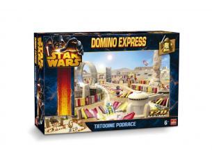 Set domino Express Star Wars Tattoine Podrace Gioco di costruzione [Giocattolo]