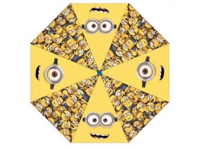 I Minions Ombrello Giallo Automatico 48 Cm Ombrello Despicable Me