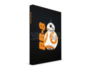 SD TOYS SW EP7 BB-8 NOTEBOOK W/LIGHT TACCUINO