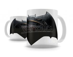 SD TOYS BATMAN VS SUPERMAN LOGO THERMAL MUG TAZZA