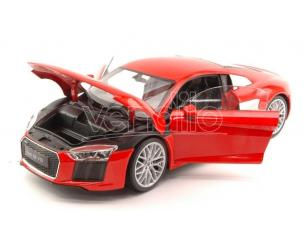 Welly WE8052R AUDI R8 V10 2016 RED 1:18 Modellino
