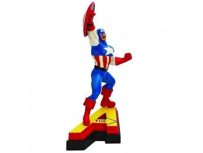 Marvel Figura Capitan America Statua 13 cm Action Figure in Resina