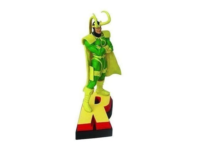 Marvel Figura Loki Statua 13 cm Action Figure in Resina