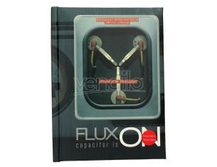 SD TOYS BTTF FLUX ON LIGHT UP NOTEBOOK TACCUINO