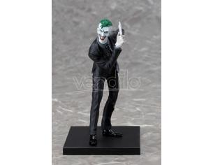 """Kotobukiya Ksv163 Scala 1: 10 """" Joker New 52 Artfx + Statua"""