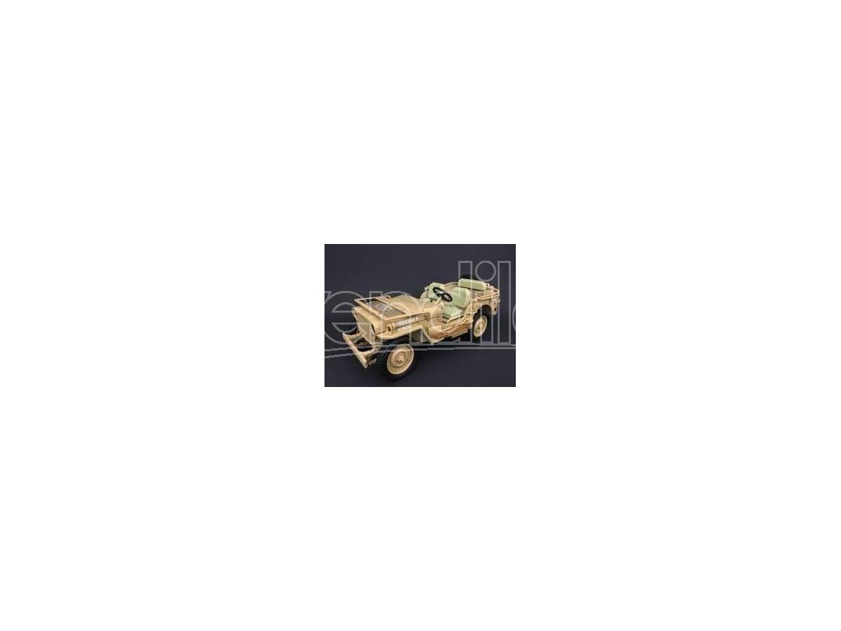 Triple 9 T9-1800140 JEEP WILLYS 1943 CASABLANCA DESERT SAND 1:18 Modellino