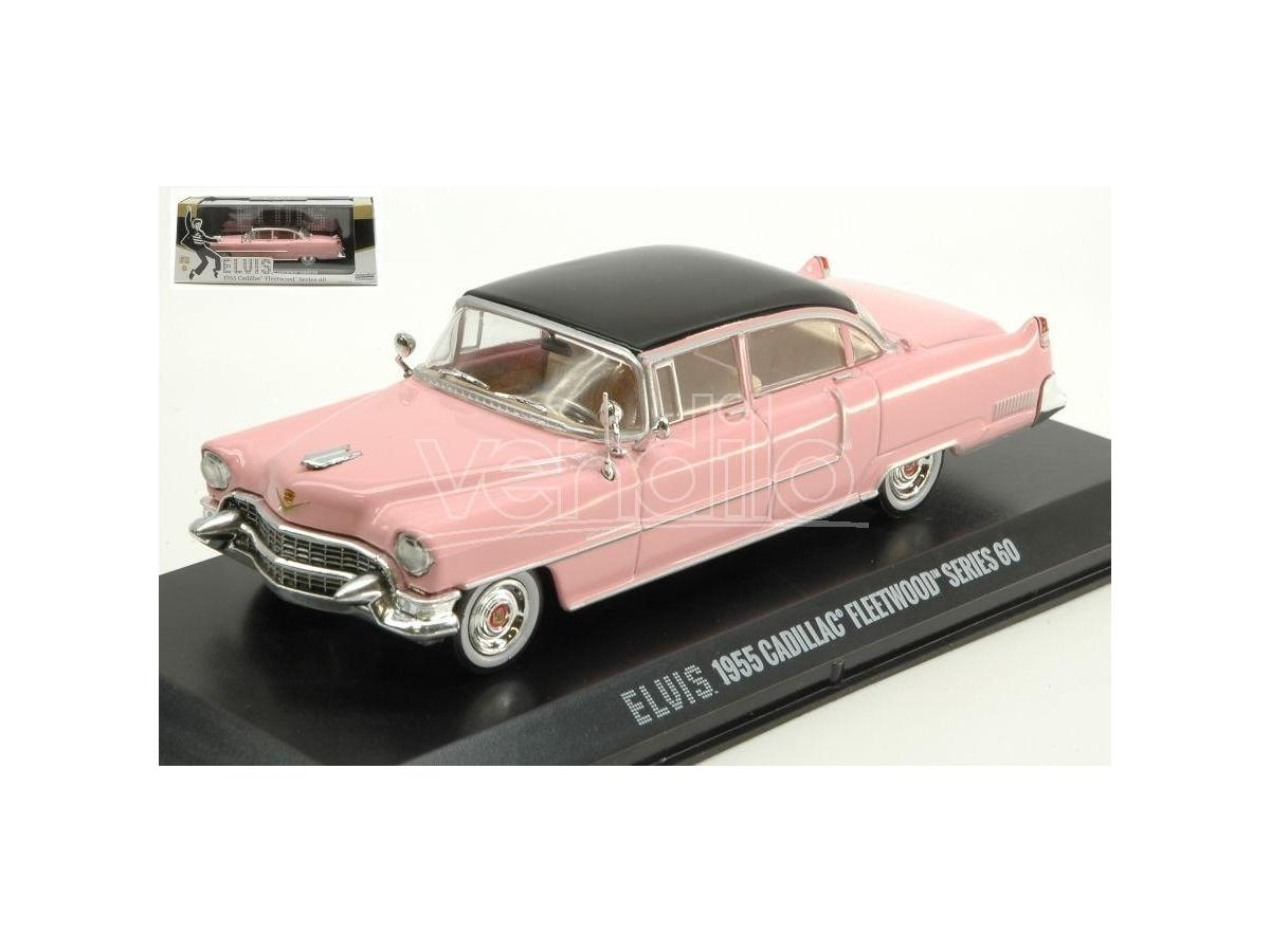 Greenlight GREEN86491 CADILLAC FLEETWOOD SERIES 60 1955 ELVIS PRESLEY 1:43 Modellino