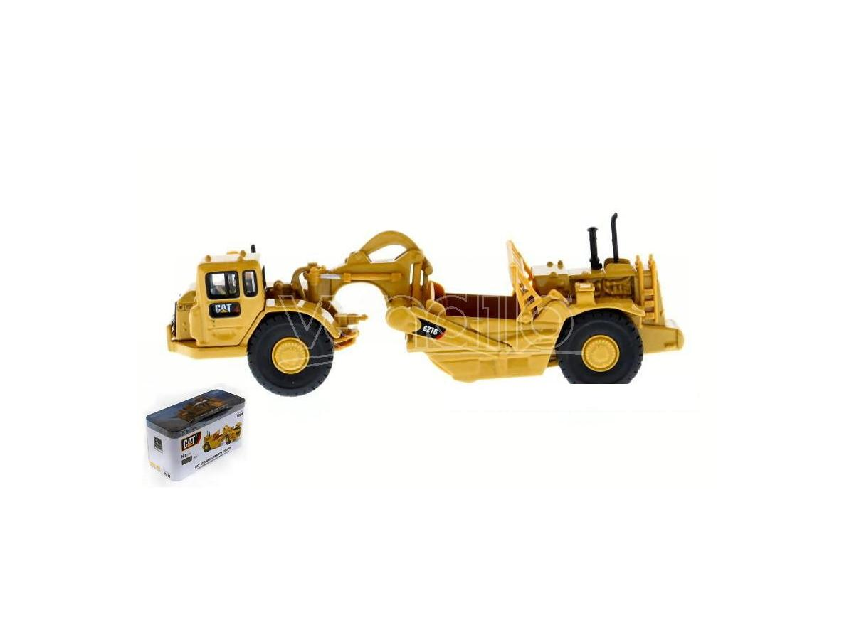 Diecast Master DM85134 CAT 627G WHEEL TRACTOR SCRAPER 1:87 Modellino