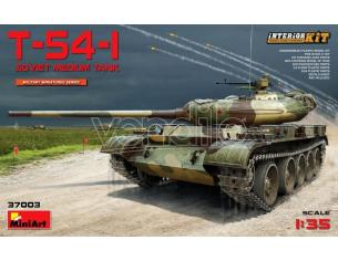 Miniart MIN37003 T-54 SOVIET MEDIUM TANK KIT 1:35 Modellino