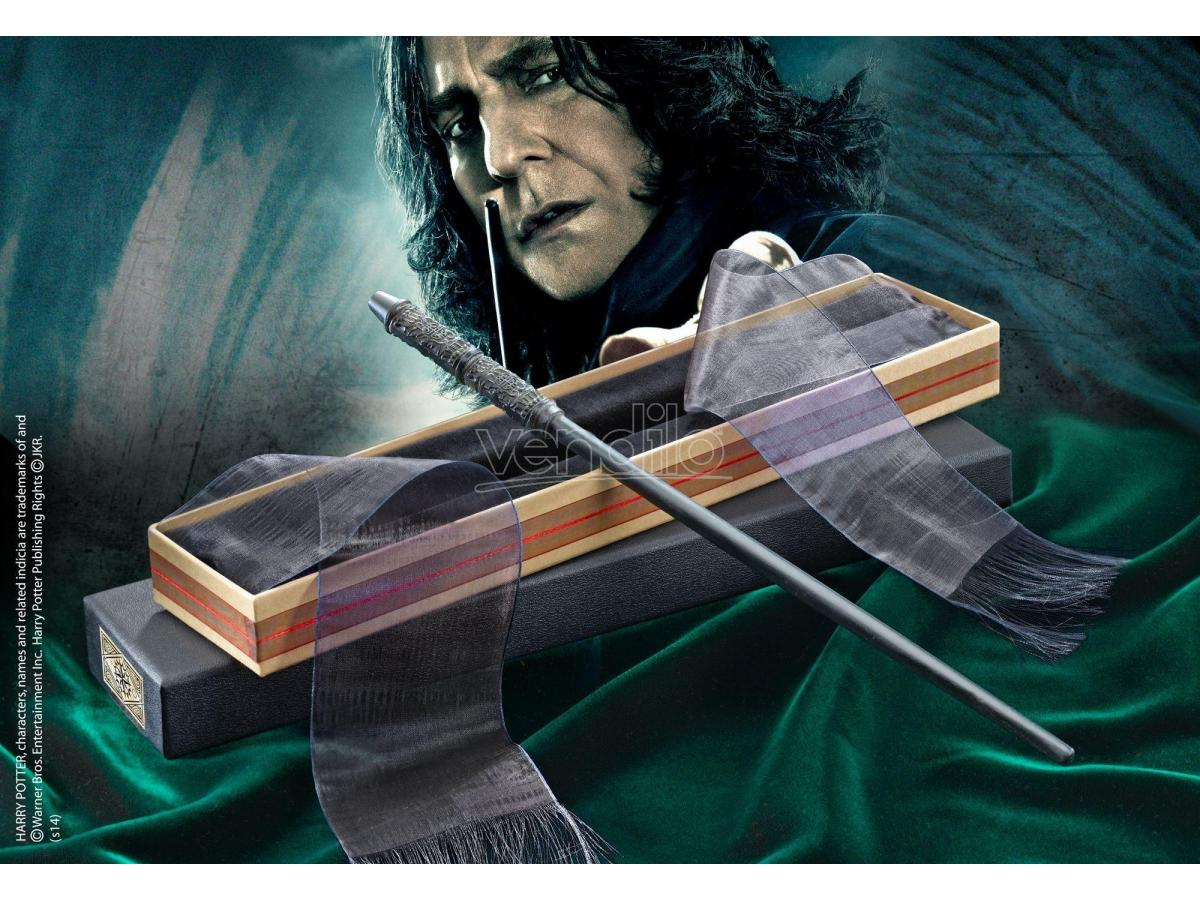 Bacchetta Magica Severus Piton Harry Potter Olivander Noble Collection