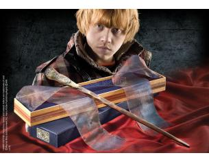 Bacchetta Magica Ron Weasley Harry Potter box Ollivander Wand Noble Collection