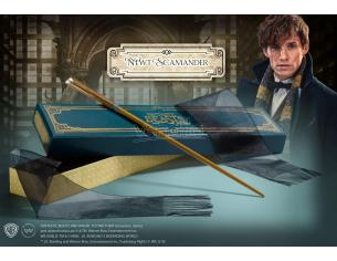 Bacchetta Magica Newt Scamandro Animali fantastici box Ollivander Wand Noble Collection