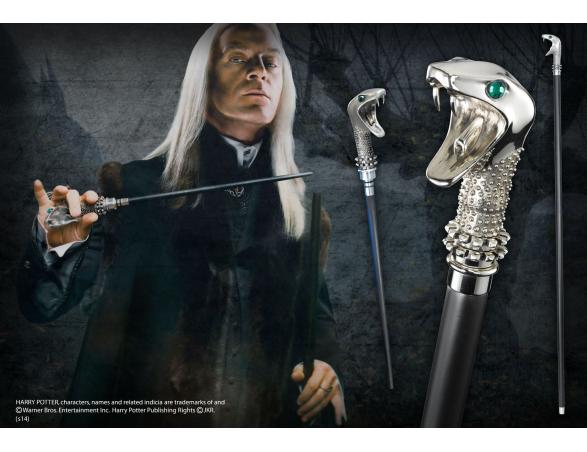 Bastone e Bacchetta Lucius Malfoy Replica Harry Potter Noble Collection