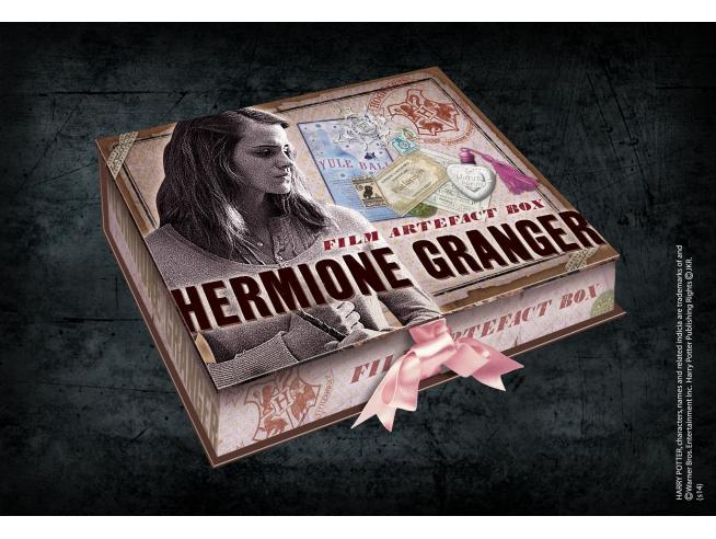 Harry Potter Box Collezione Repliche Artefact Hermione Granger Noble Collection