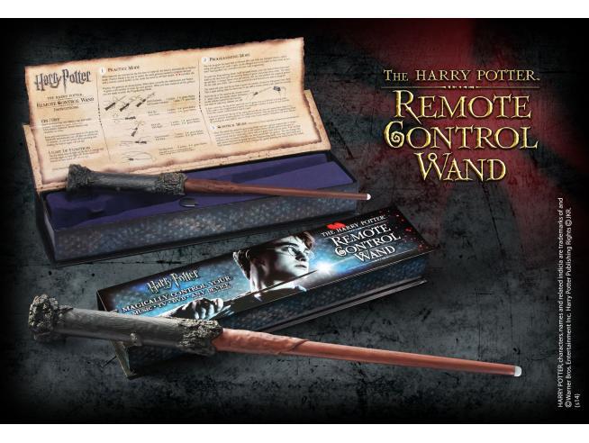Harry Potter  Bacchetta Magica Harry Punta Luminosa Telecomando  Noble Collection