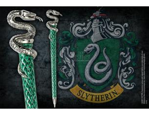 Harry Potter Penna Serpeverde Placcato Argento Noble Collection