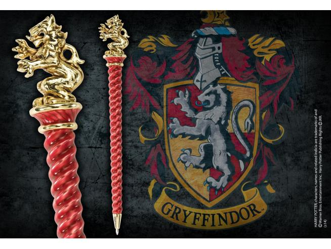 Penna Grifondoro Placcato Oro Harry Potter Noble Collection