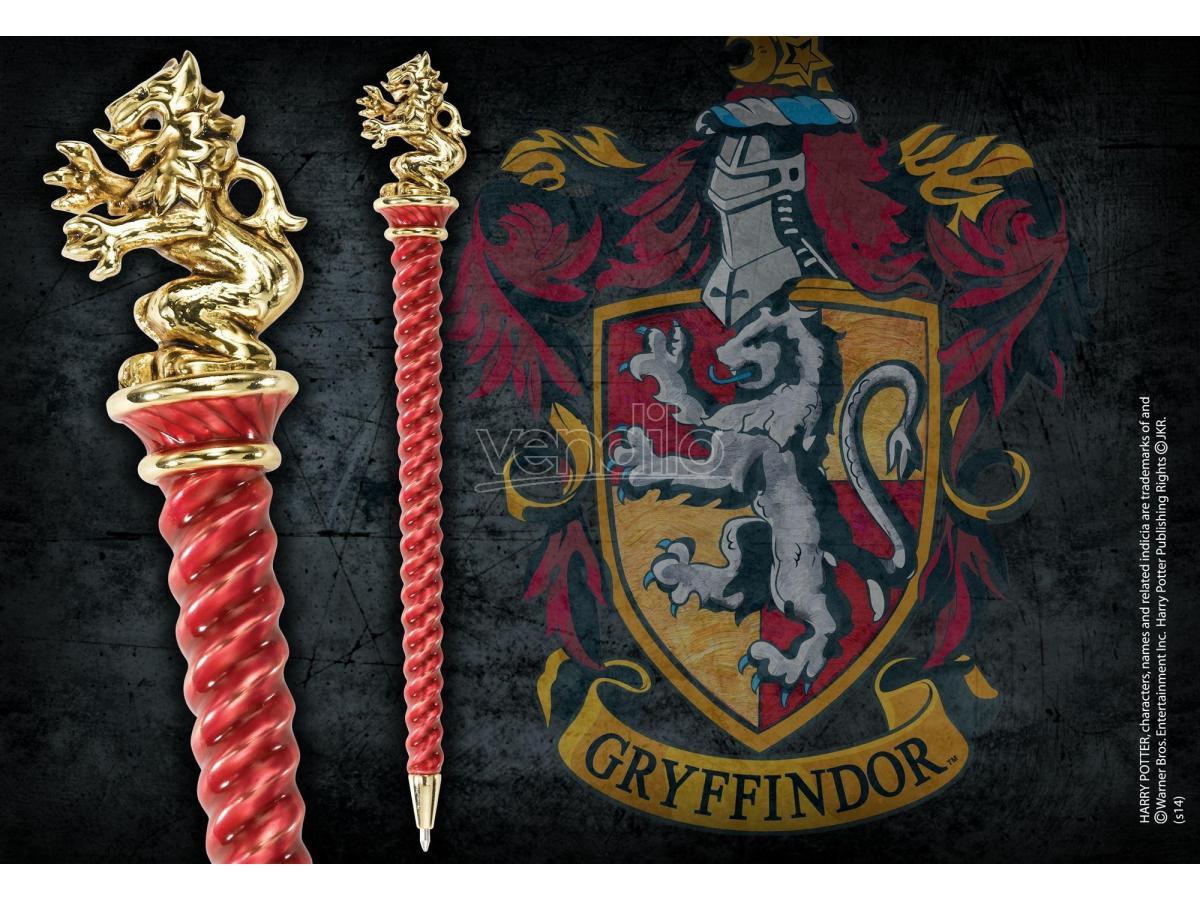 Penna Grifondoro Placcato Oro Harry Potter Noble Collection