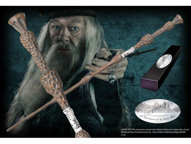 Harry Potter  Bacchetta Magica Albus Silente  Character Noble Collection