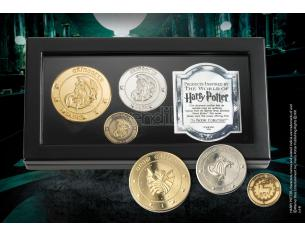 Set di Monete della Banca di Gringotts Harry Potter Noble Collection