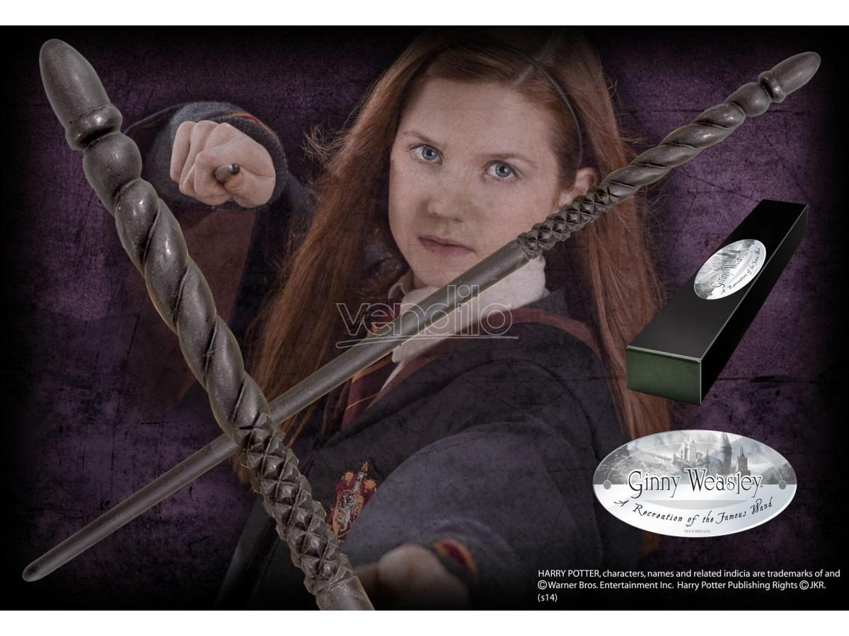 Bacchetta Magica Ginny Weasley Harry Potter Character Noble Collection