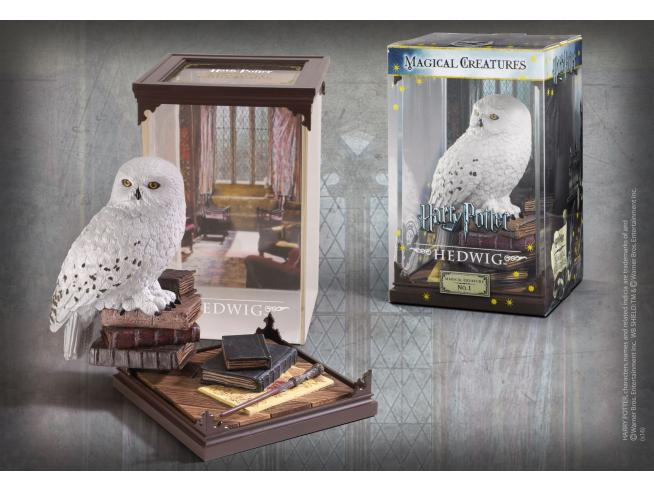 Harry Potter  Creature Magiche Statua Hedwige  18 Cm Noble Collection