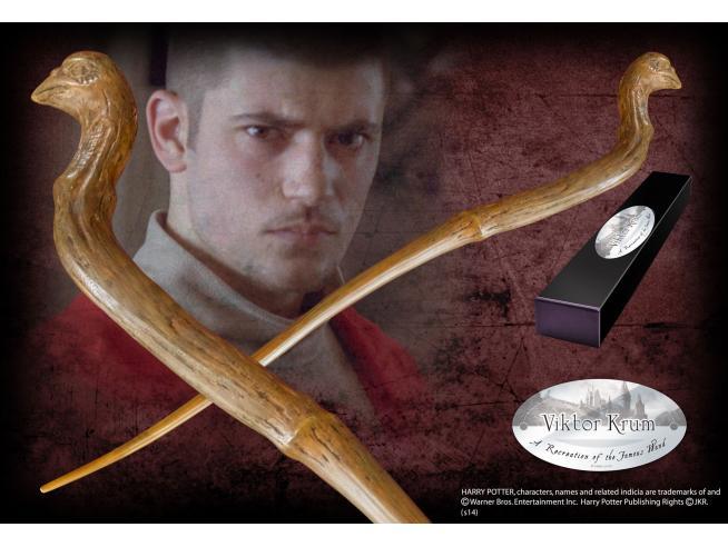 Harry Potter  Bacchetta Magica Viktor Krum  Character Noble Collection