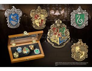 Spille Stemmi Hogwarts Harry Potter Pin Collection Houses pz 5 Noble Collection