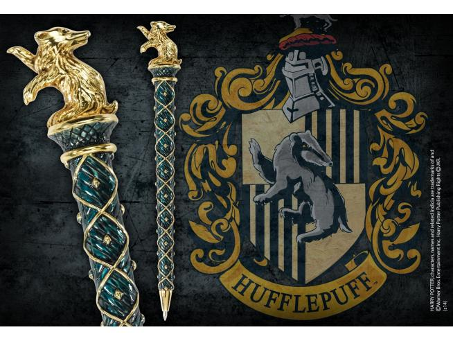 Penna Tassorosso Placcato Oro Harry Potter Noble Collection