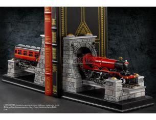 Reggilibri fermalibri treno di Hogwarts Express Harry Potter Noble Collection