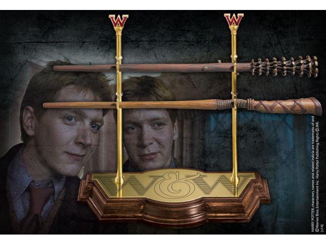 Bacchetta Magica Gemelli Weasley Espositore Harry Potter Noble