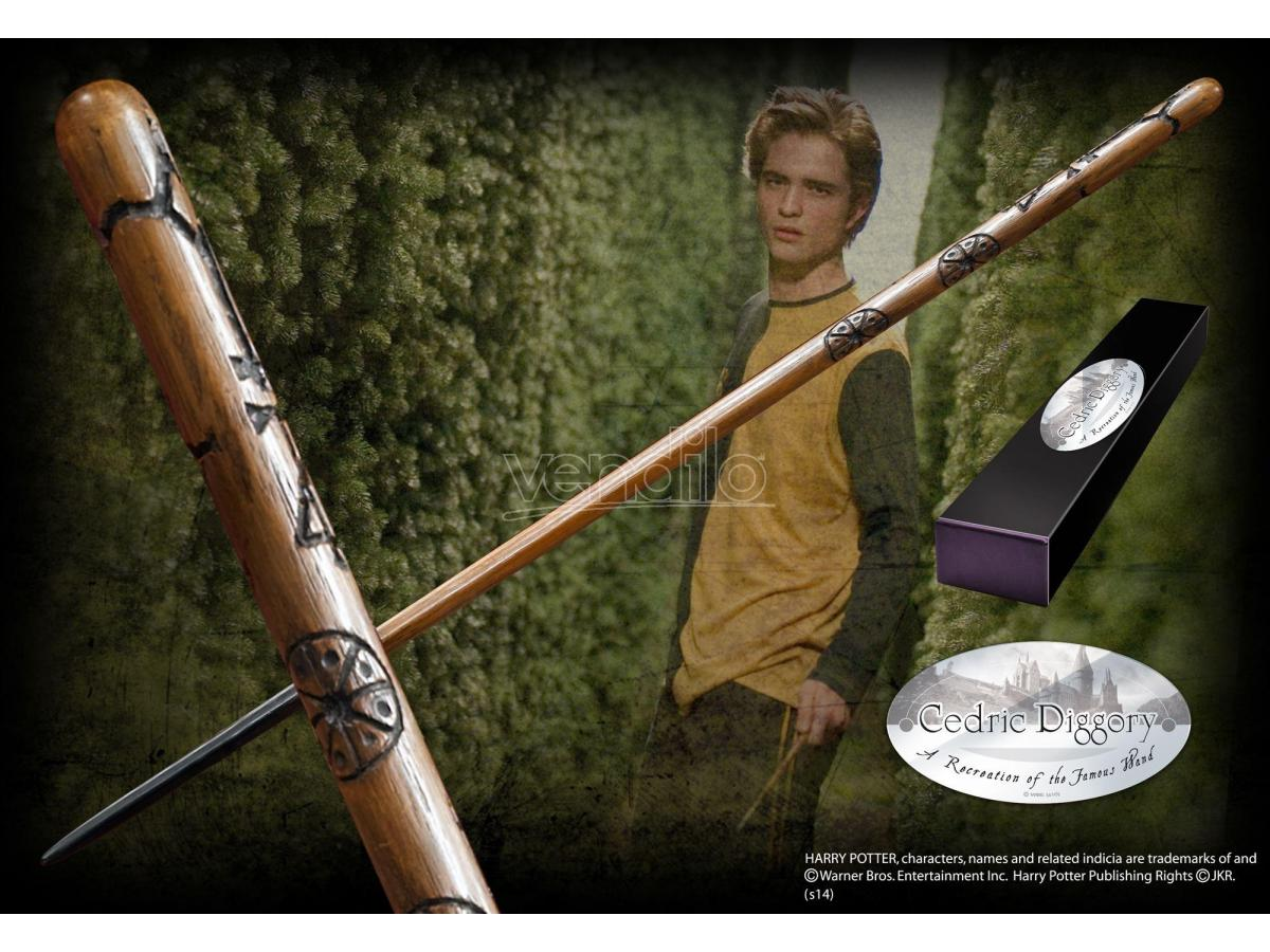 Bacchetta Magica Cedric Diggory  Harry Potter Character Noble Collection